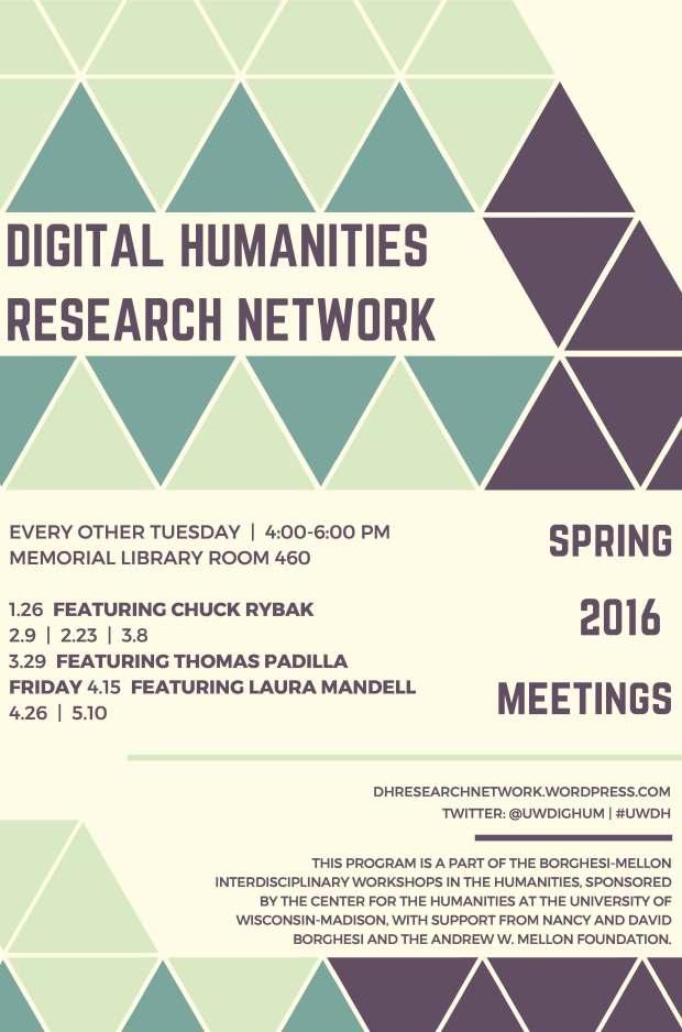 DHRN Spring 2016 Poster
